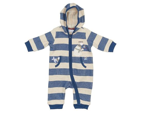 Front Opening Feetless Babysuit