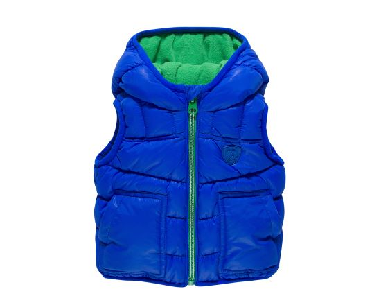 Padded Vest With Hood