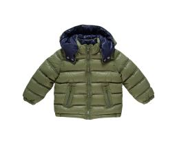 Reversible Jacket With Detachable Hood