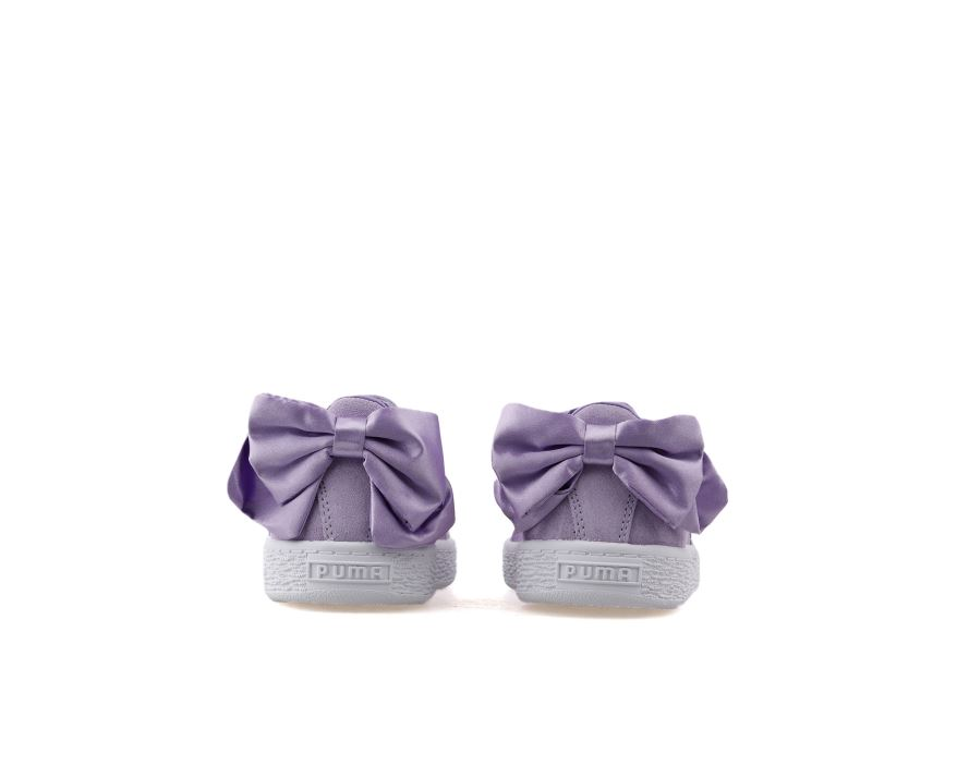 Suede Bow Ac Ps Purple Rose Purple Rose