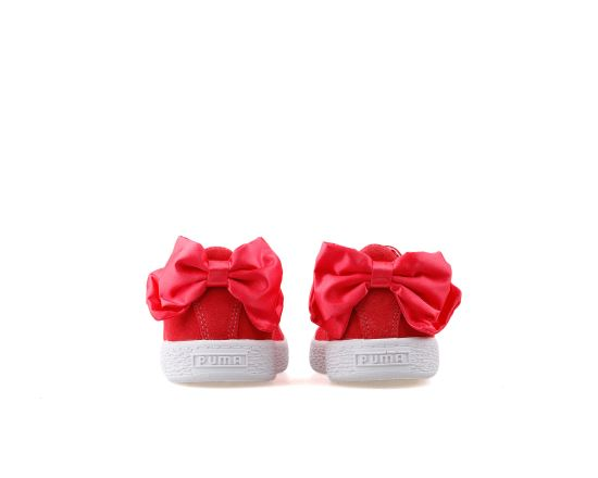 Suede Bow Ac Ps Paradise Pink Paradise P
