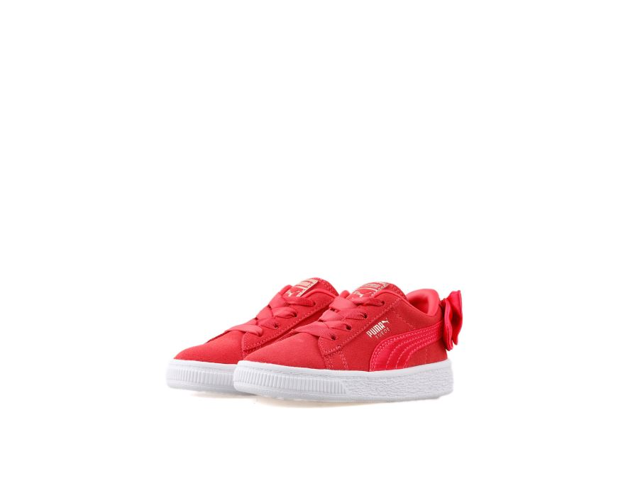 Suede Bow Ac inf Paradise Pink Paradise