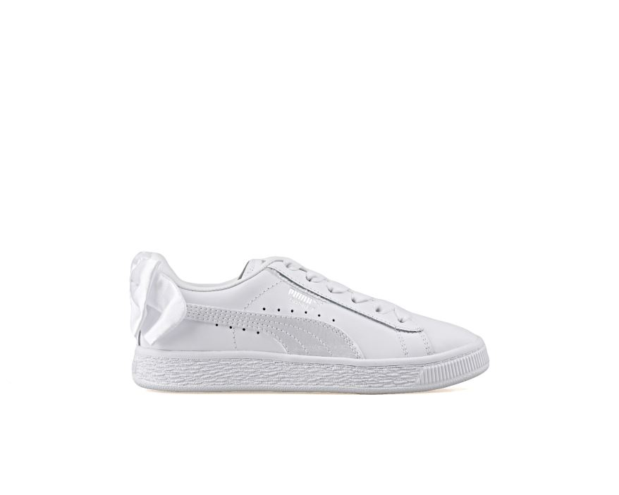 Basket Bow Ac Ps Puma White-Puma White