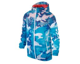Flight Wt Camo Windrunner Yth