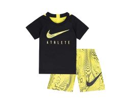Athlete Ss Top Aop Short Set