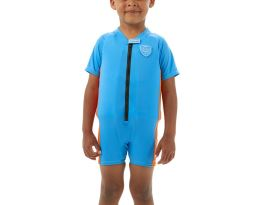 Sea Squad Float Suit Ju Blue Orange
