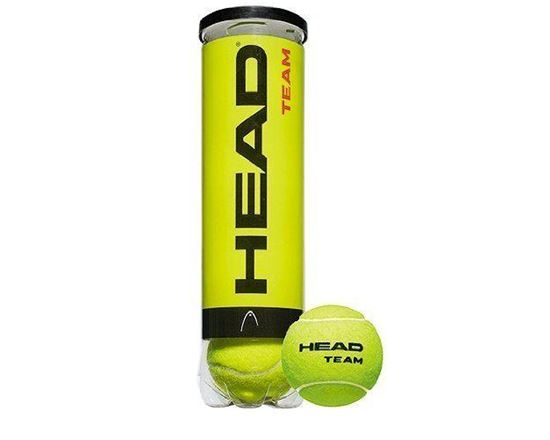 4 Ball Head Team Tenis Topu