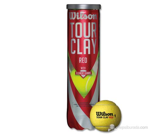 Wilson 4 Lu Tour Clay Red